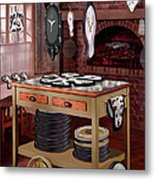 The Soft Clock Shop Metal Print by Mike McGlothlen