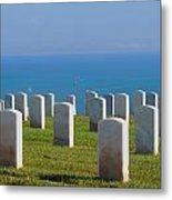 The Soldiers Last Call Metal Print by Judy  Waller