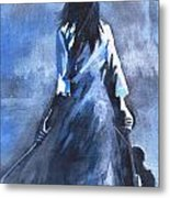 The Solo Performer Metal Print