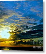 The Sound Of Sky Metal Print by Q's House of Art ArtandFinePhotography