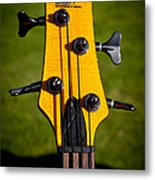 The Soundgear Guitar By Ibanez Metal Print by David Patterson