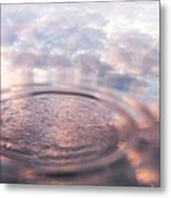 The Sounds Of Silence. Sacred Music Metal Print by Jenny Rainbow