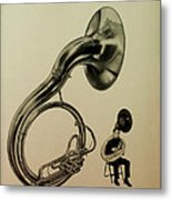The Sousaphone Metal Print