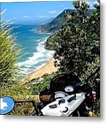 The South Coast Metal Print