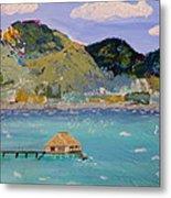 The South Seas Metal Print by Phyllis Kaltenbach