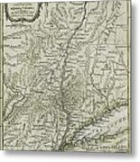 The Southern Part Of The Province Of New York Metal Print