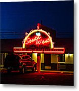 The Southwest Night Metal Print