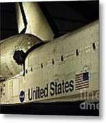 The Space Shuttle Endeavour 12 Metal Print