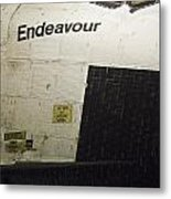The Space Shuttle Endeavour 13 Metal Print