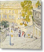 The Spanish Steps Of Rome Metal Print