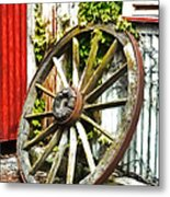 The Spare Wheel  Metal Print