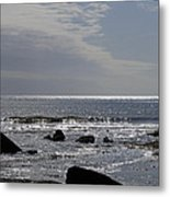 The Sparkling Sea Metal Print