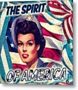 The Spirit Of America Metal Print