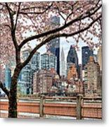 The Spring Skyline Metal Print