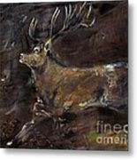 The Stag Metal Print