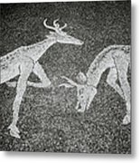 The Stags Metal Print