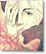 The Stain Metal Print