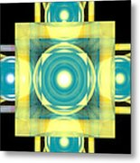 The Stairs Forward Metal Print
