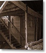 The Stairs Still Stand Metal Print