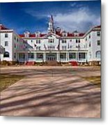 The Stanley Hotel Metal Print