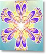 The Star In The Heart Metal Print