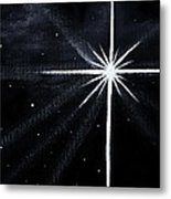 The Star Metal Print by Judy M Watts-Rohanna