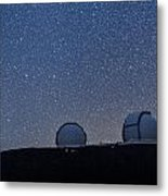 The Stars Above Keck Metal Print