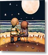 The Stars The Moon And The Tide Metal Print by Karin Taylor