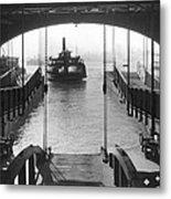 The Staten Island Ferry Metal Print