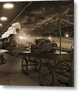 The Station 2 Metal Print by Mike McGlothlen