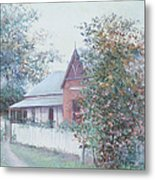 The Stationmaster's Cottage Metal Print