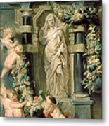 The Statue Of Ceres Metal Print