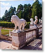 The Statues Of Archangelskoe Estate. Russia Metal Print