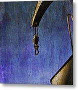 The Steam Crane Metal Print