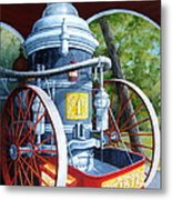 The Steamer Metal Print