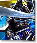 The Stearman Jacobs Aircraft Engine Metal Print