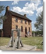 The Stone House At Manassas Metal Print