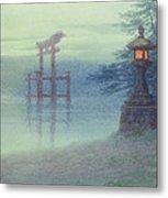 The Stone Lantern Cira 1880 Metal Print