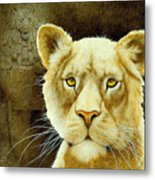 The Stone Lion... Metal Print by Will Bullas