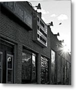 The Stone Pony Asbury Park Side View Metal Print
