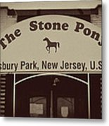 The Stone Pony Vintage Asbury Park New Jersey Metal Print