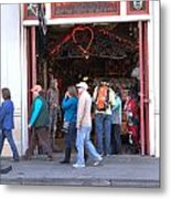 The Store Front Metal Print