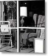 The Storefront Metal Print