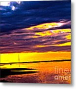 The Storm  Metal Print by Q's House of Art ArtandFinePhotography