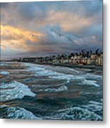 The Storm Clouds Roll In Metal Print