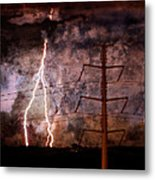 The Storm Is Upon Us Metal Print