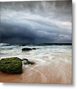 The Storm Metal Print by Jorge Maia