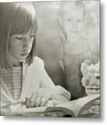 The Story Of A Little Dancer Metal Print