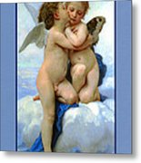 The Story Of Cupid And Psyche Metal Print