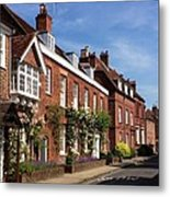 The Streets Of Winchester England Metal Print